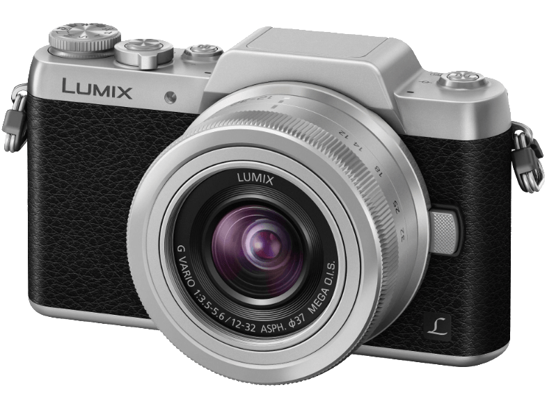 PANASONIC DMC-GF7KEG-S Black/Silver μαζί με φακό 12-32 mm mirrorless cameras