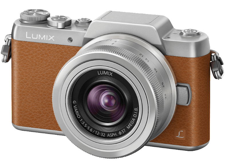 PANASONIC DMC-GF7KEG-T Καφέ μαζί με φακό 12-32 mm mirrorless cameras