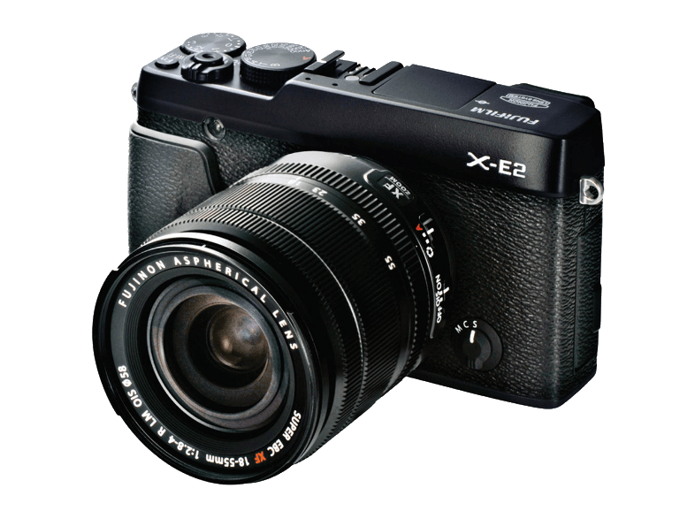 FUJIFILM X-E2 με Φακό 18 - 55mm Black - (16405044) mirrorless cameras