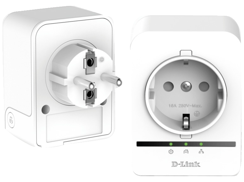 D-LINK PowerLine AV 500 HD Passthrough Starter Kit - (DHP-P509AV) powerline