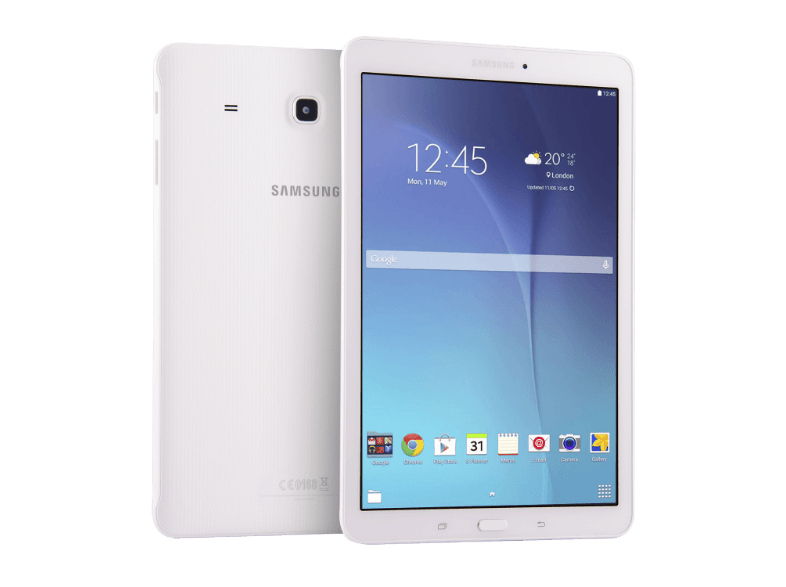 SAMSUNG Galaxy Tab E White - (SM-T560NZWA) android tablet