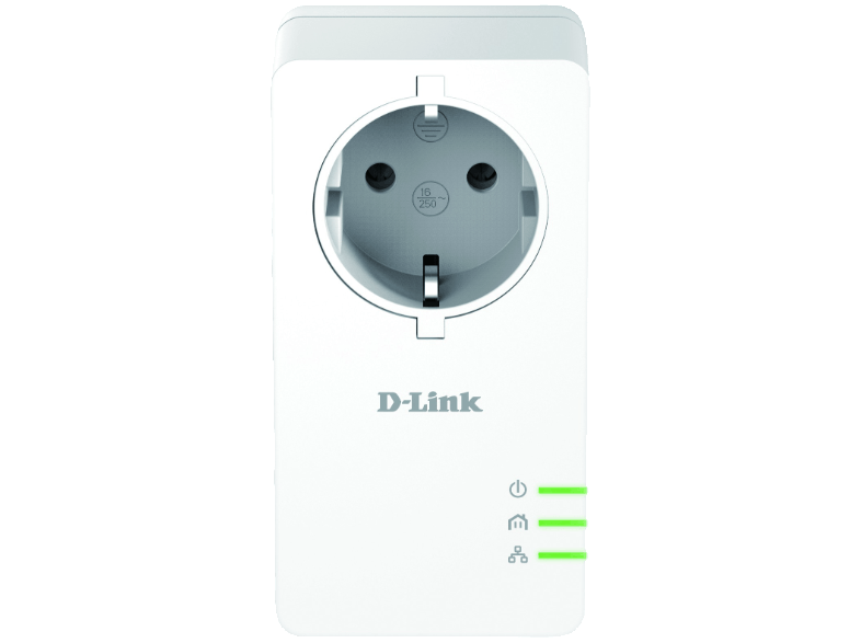D-LINK PowerLine AV2 1000 HD Gigabit Passthrough Kit - (DHP-P601AV) powerline