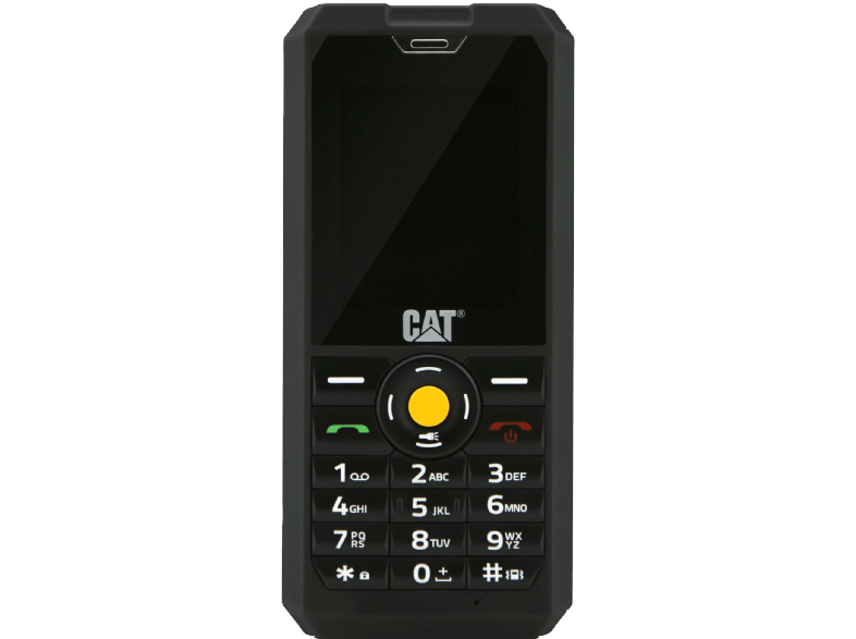 CATERPILLAR CAT B30 Dual Sim Black κινητά