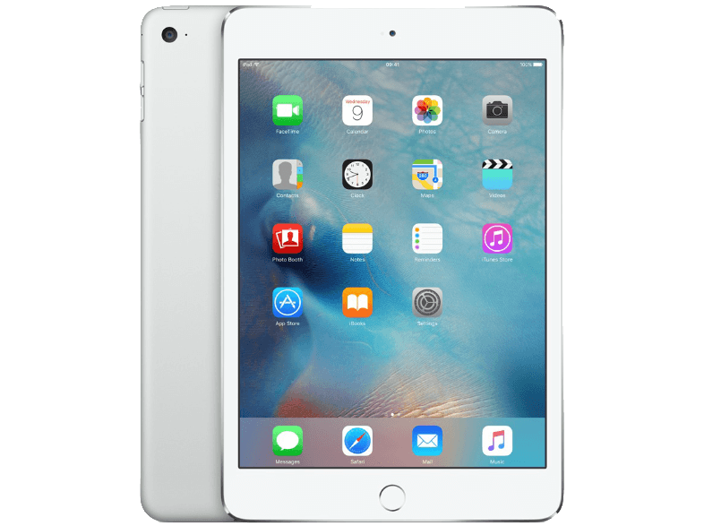 APPLE iPad mini 4 Wi-Fi 128GB Silver - (MK9P2RK/A) ipad