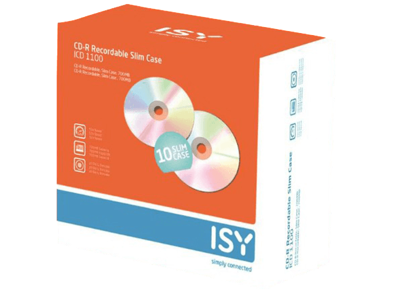 ISY ICD 1100 cd  dvd  blu ray