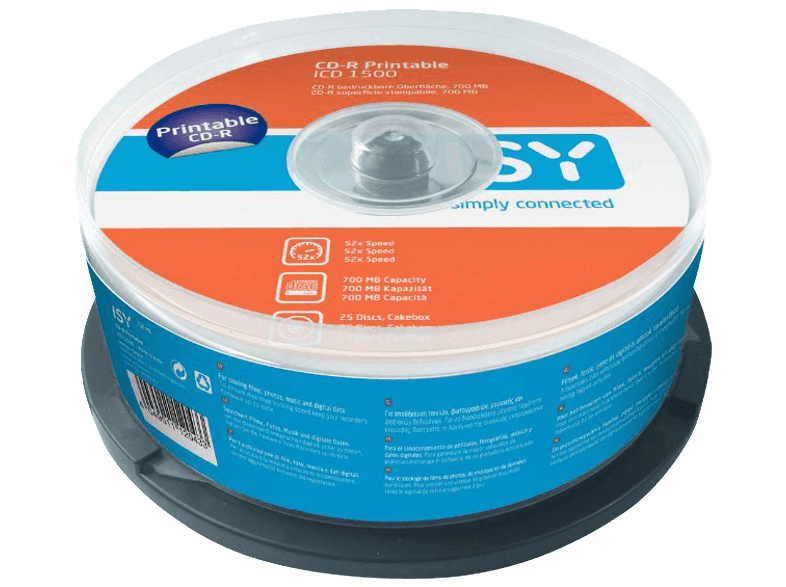 ISY ICD 1500 cd  dvd  blu ray