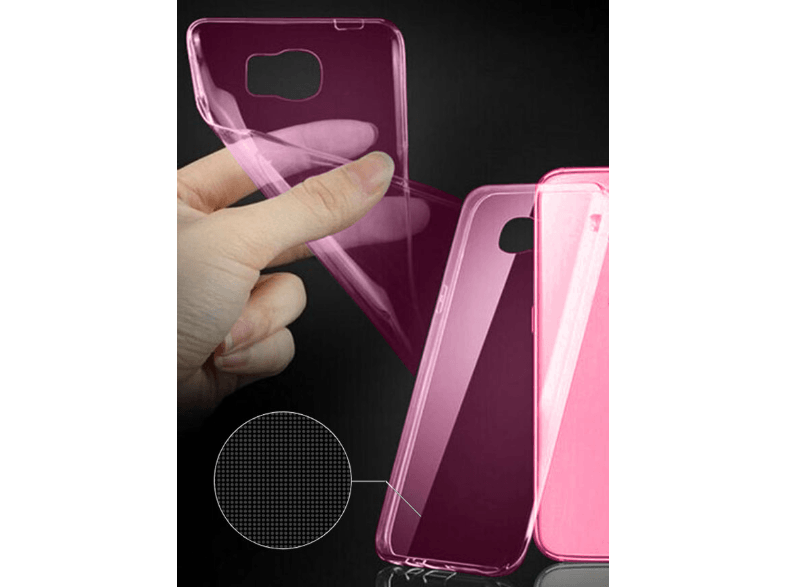 IDOL 1991 Θήκη Samsung J500 Galaxy J5 Ultra Thin Tpu 0.3Mm Pink - (5205308151132 θήκες  μεμβράνες samsung