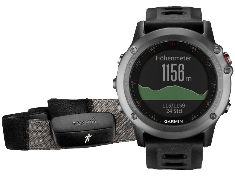 GARMIN Fenix 3 Performer Bundle Gray- (010-01338-11) smartwatches