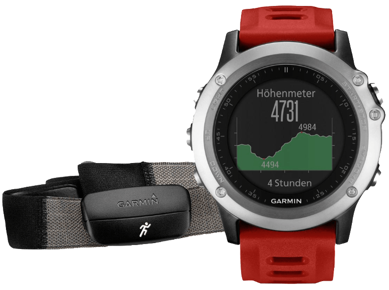 GARMIN Fenix 3 Performer Bundle Silver - (010-01338-16) smartwatches