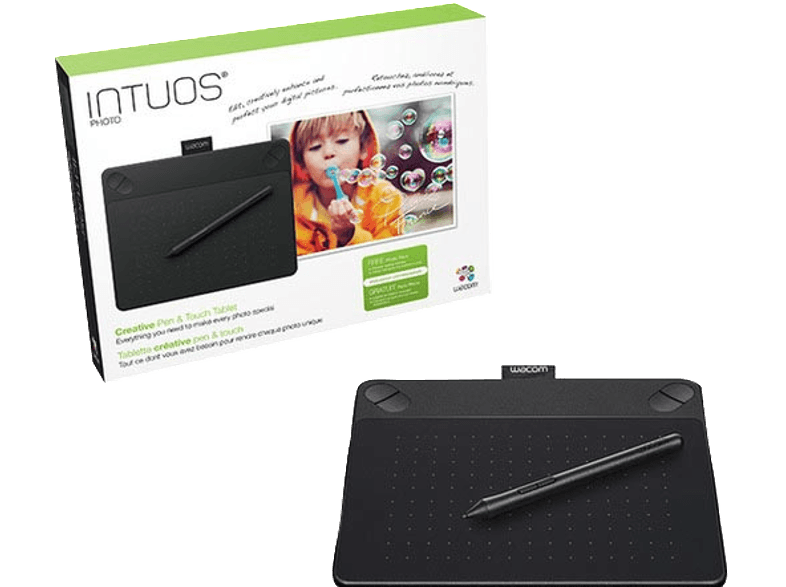 WACOM SYSTEMS Intuos Photo Black PT S - (CTH-490PK-N) γραφίδες