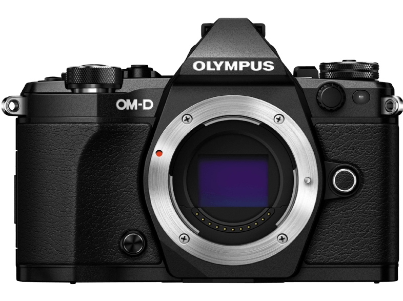 OLYMPUS E‑M5 Mark II Body Black - (V207040BE000) mirrorless cameras