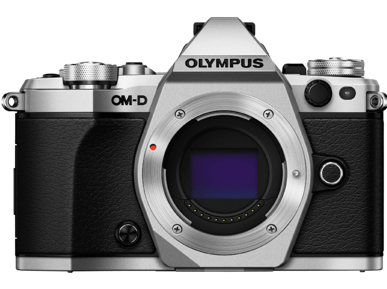 OLYMPUS E‑M5 Mark II Body Silver - (V207040SE000) mirrorless cameras