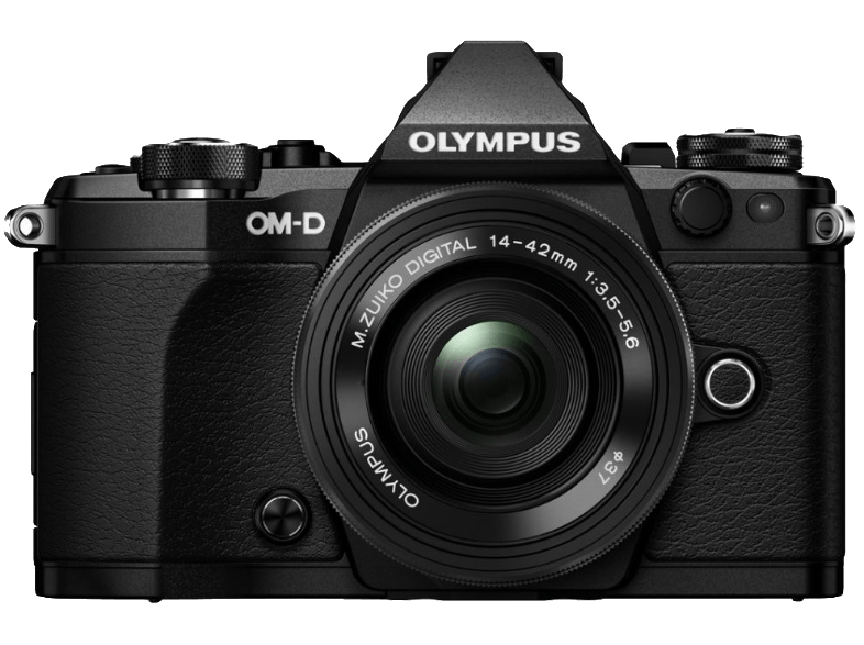 OLYMPUS E-M5 Mark II Pancake Kit EZ-M 14-42mm EZ Black - (V207044BE000) mirrorless cameras
