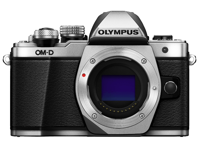 OLYMPUS E-M10 Mark II Body Silver - (V207050SE000) mirrorless cameras