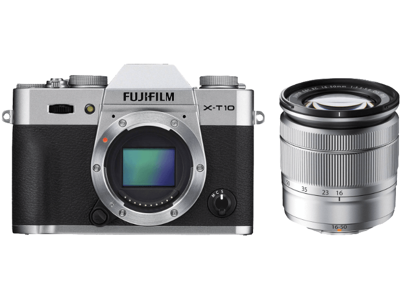FUJIFILM X-T10 + Φακός 16-50mm Silver - (144346963) mirrorless cameras