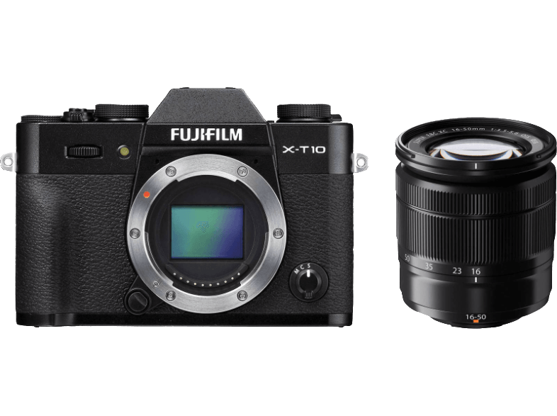 FUJIFILM X-T10 + Φακός 16-50mm Black - (143261159) mirrorless cameras
