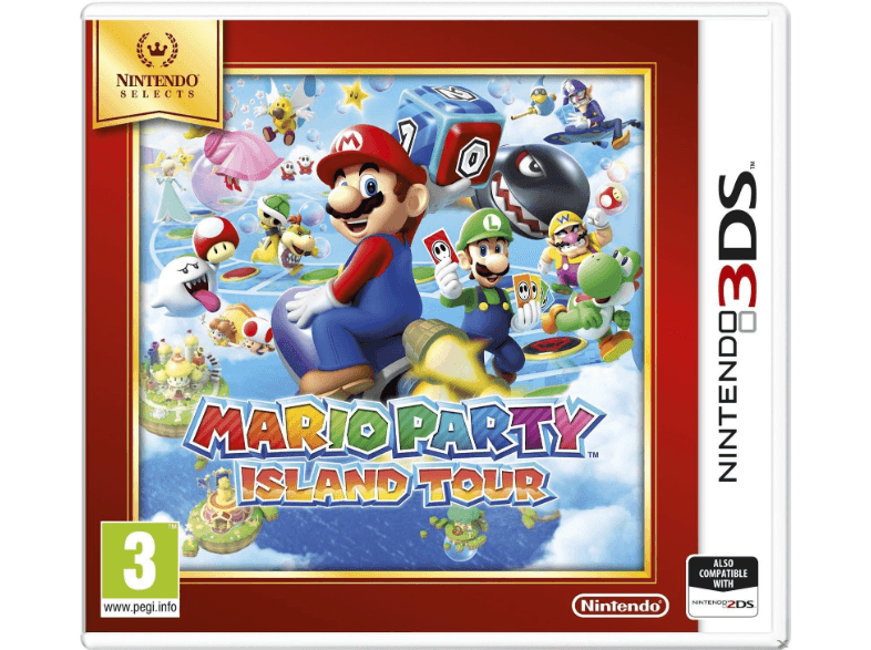 NINTENDO SW Mario Party: Island Tour (Nintendo Selects) games 2ds  3ds