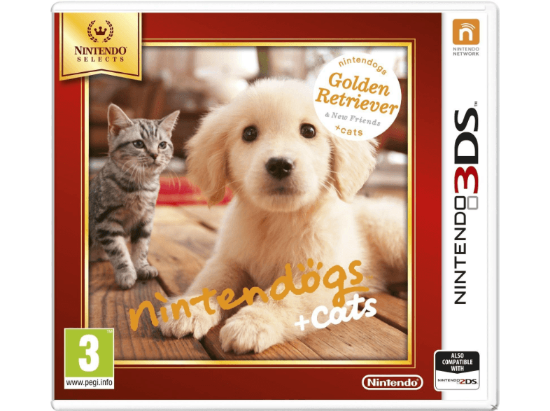 NINTENDO SW Nintendogs + Cats-Golden Retriever & New Friends (Nintendo Selects) games 2ds  3ds