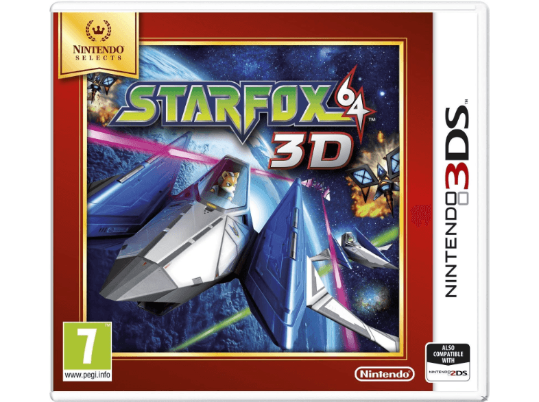 NINTENDO SW Star Fox 64 3D (Nintendo Selects) games 2ds  3ds
