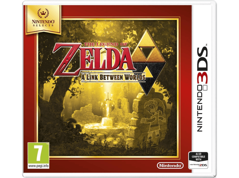 NINTENDO SW The Legend of Zelda A Link Between Worlds (Nintendo Selects) games 2ds  3ds