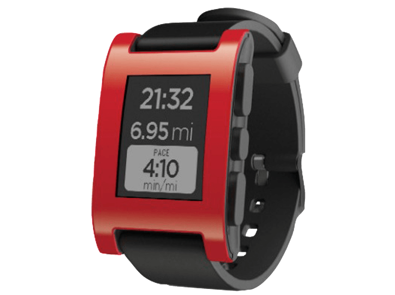PEBBLE Original Smartwatch Cherry Red - (301RE) smartwatches