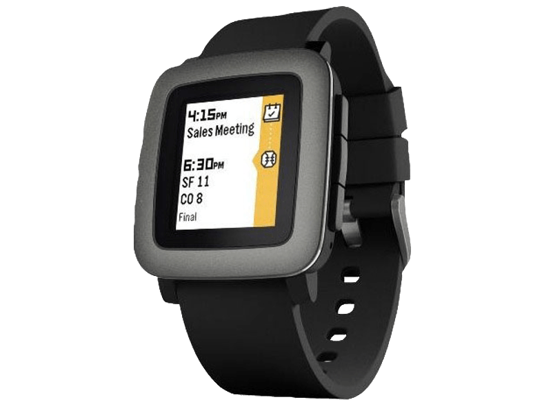 PEBBLE Time Black - (50100020) smartwatches