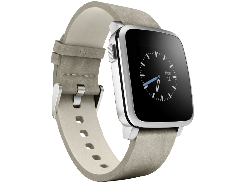 PEBBLE Time Steel Silver - (51100023) smartwatches