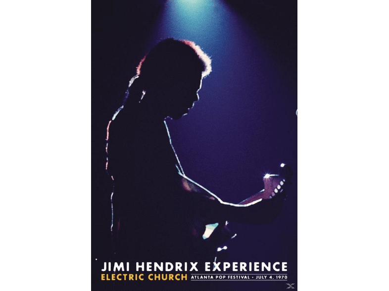 SONY BMG Jimi Hendrix: Electric Church dvds