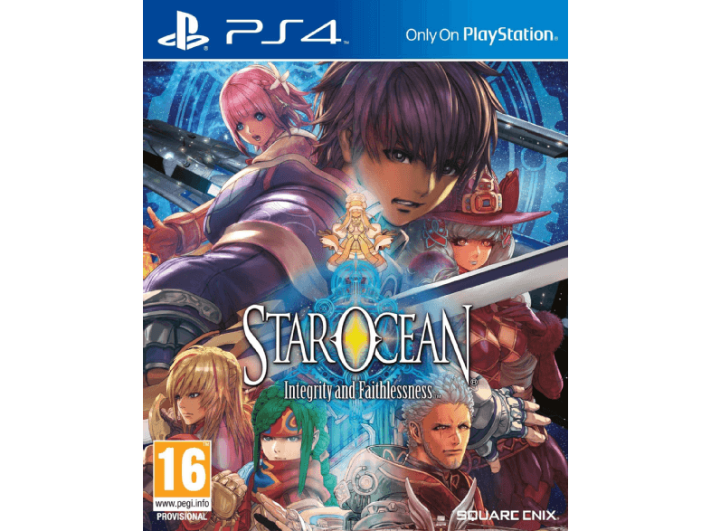 SQUARE ENIX Star Ocean: Integrity and Faithlessness ps4 games