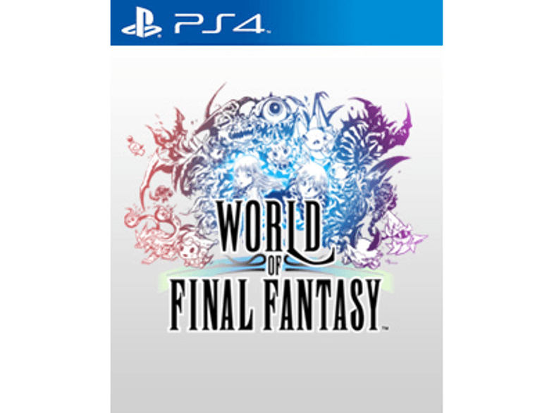 SQUARE ENIX World Of Final Fantasy ps4 games