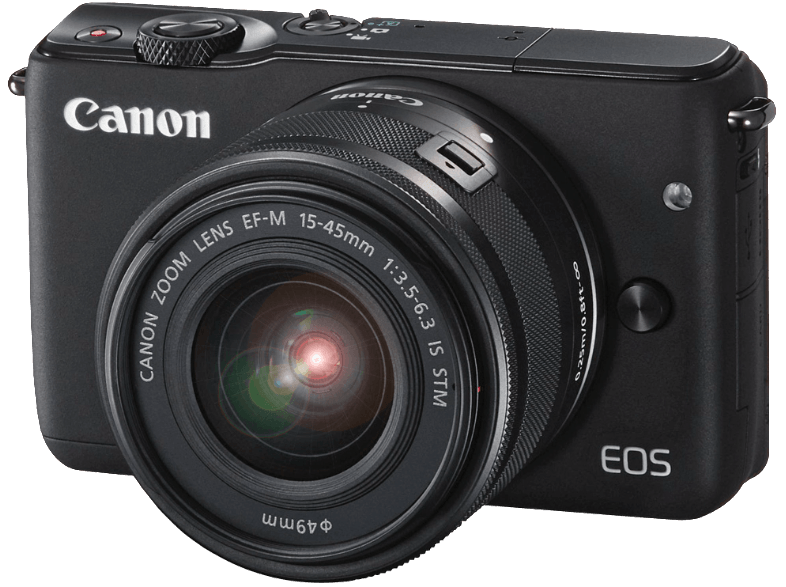 CANON EOS M10 Black 15-45mm mirrorless cameras
