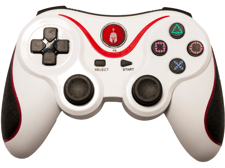 ENARXIS. Spartan Gear Wireless Bluetooth Sixaxis Controller White αξεσουάρ ps3