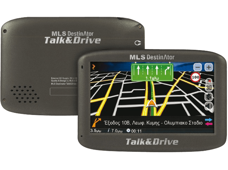 MLS Destinator Talk&Drive 433 πλοήγηση