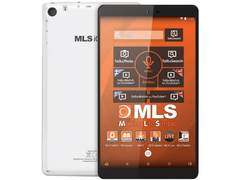 MLS iQtab Ideal 8