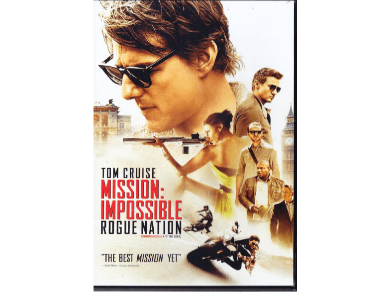 PARAMOUNT Mission Impossible: Rogue Nation dvd ταινίες