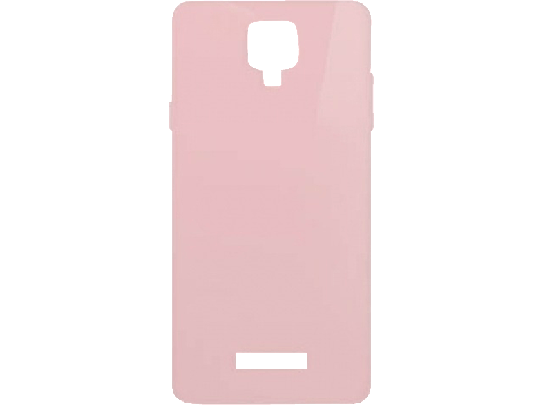 MLS Θήκη Κινητού MLS Color 4G Silicon Pink/Transparent - (11.CC.520.088)