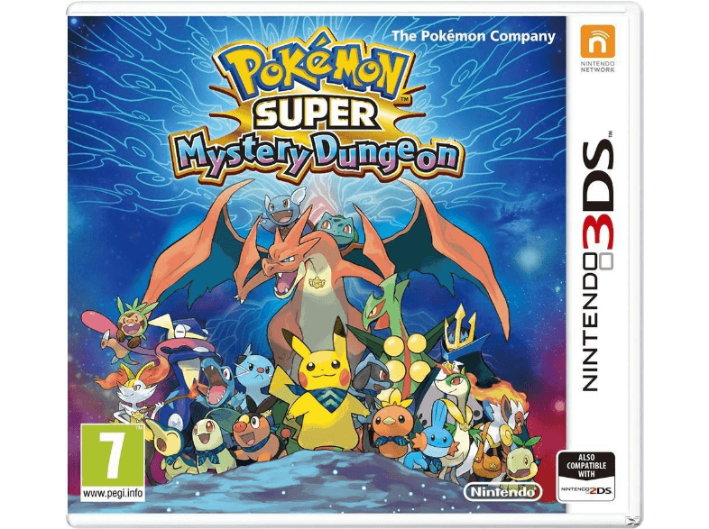 NINTENDO SW Pokemon Super Mystery Dungeon (EU) games 2ds  3ds