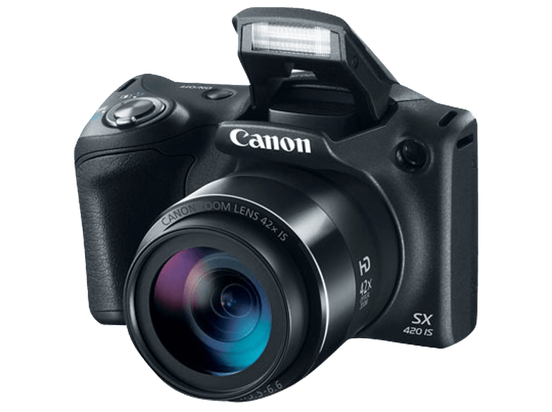 CANON PowerShot SX420 IS Black compact cameras