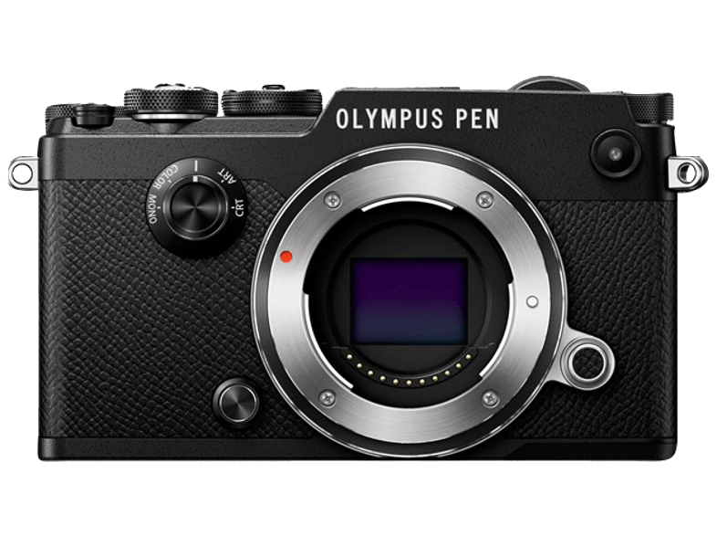 OLYMPUS PEN-F Body Black - (V204060BE000) mirrorless cameras