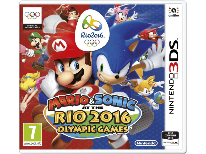 NINTENDO SW Mario & Sonic at the Rio 2016 Olympic Games games 2ds  3ds