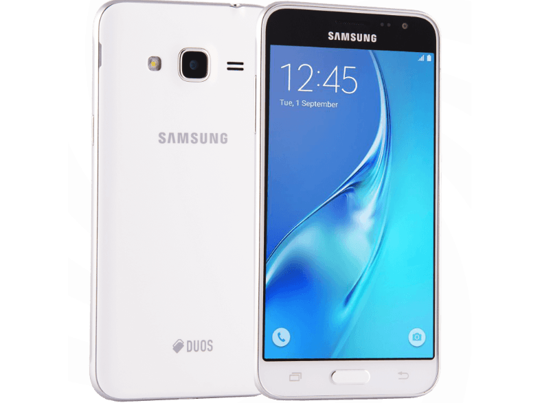 SAMSUNG Galaxy J3 Single Sim (2016) White android smartphone