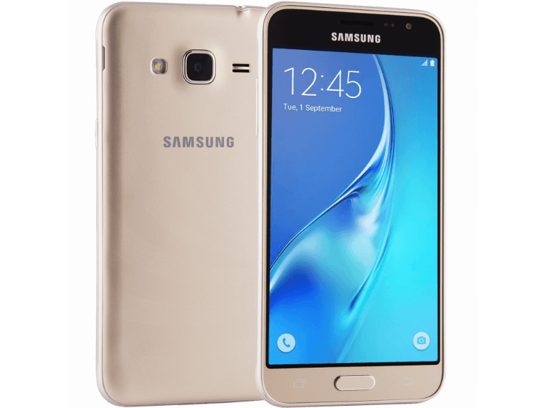 SAMSUNG Galaxy J3 Single Sim (2016) Gold android smartphone
