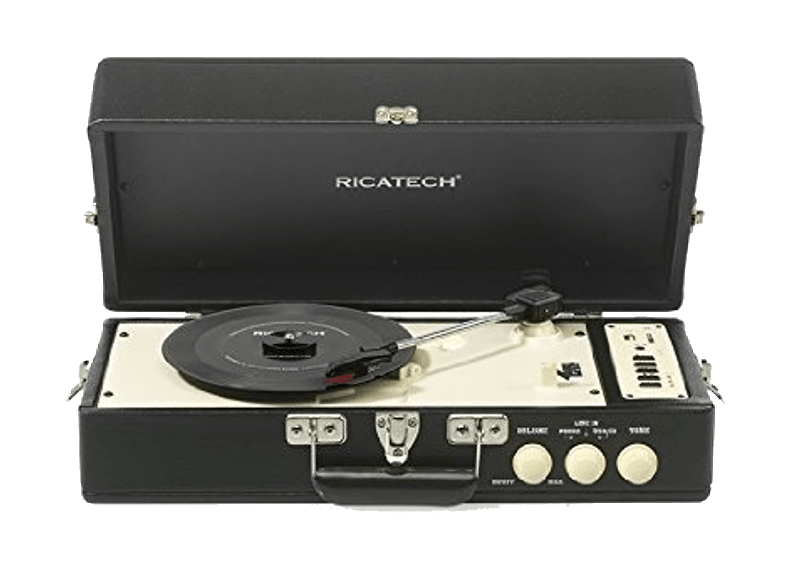 RICATECH Vintage Turnable Black - (RTT98) πικάπ