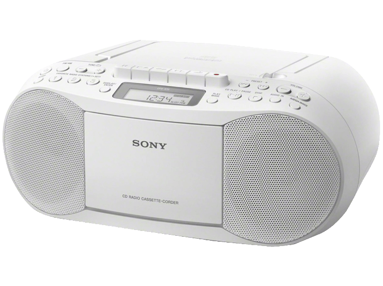 SONY CFD-S70 White ραδιόφωνα
