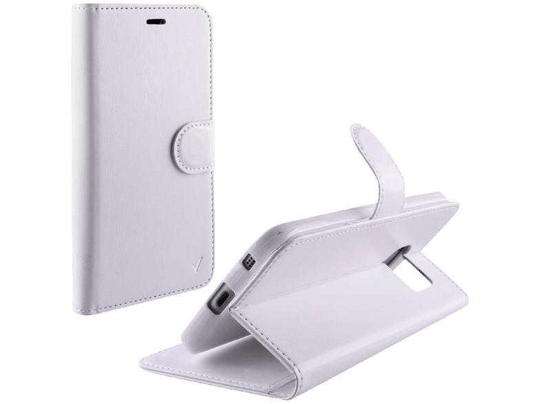 VOLTE-TEL Θήκη Samsung Galaxy J5 2016 J510 Leather-TPU Book Stand White (5205308 θήκες  μεμβράνες samsung