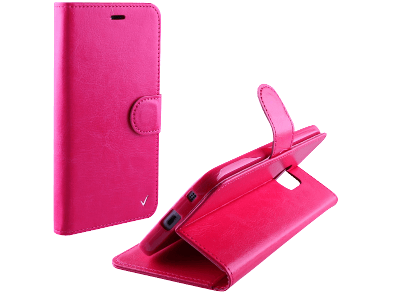 VOLTE-TEL Θήκη Samsung Galaxy J5 2016 J510 Leather-TPU Book Stand Pink (52053081 θήκες  μεμβράνες samsung