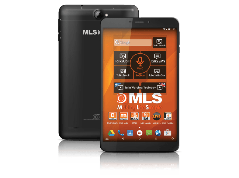 MLS Charm 3G - QuadCore 1.3 GHz / 16GB Black android tablet