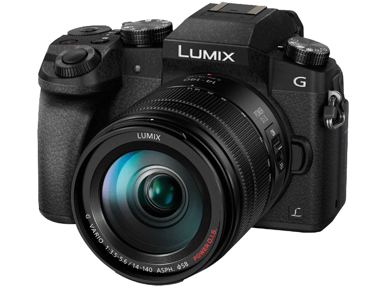 PANASONIC Lumix DMC-G7 Black + Φακός 14-140mm - (DMC-G7ΗEG-K) mirrorless cameras