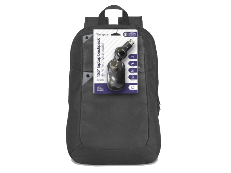 """TARGUS Intellect 15.6"""" Laptop Backpack & Wired Mouse - (BEU3189-01P) τσάντες  θήκες"""