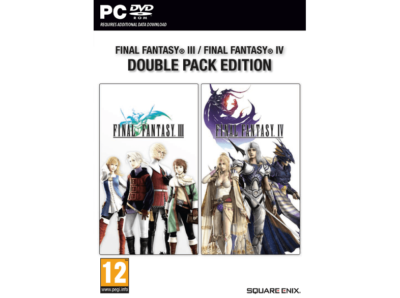 SQUARE ENIX Final Fantasy III και ΙV Double Pack Edition pc games